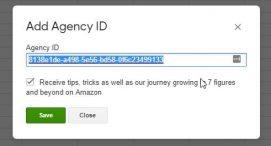 add agency id