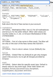 fee type