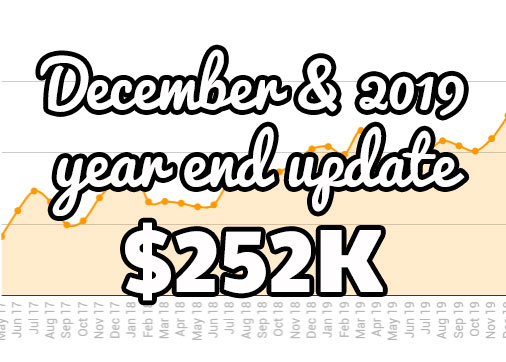 December FBA monthly update at $252K