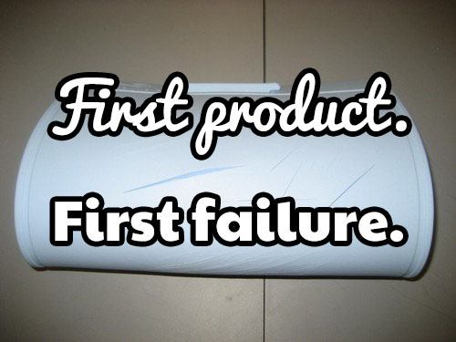 6 hard lessons from our very first and failed product
